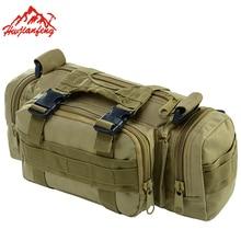 Multifunction Outdoor Camouflage  Luggage Bag Waterproof Shoulder Messenger Bags Tactical Waist Bag Travel Camera Bags