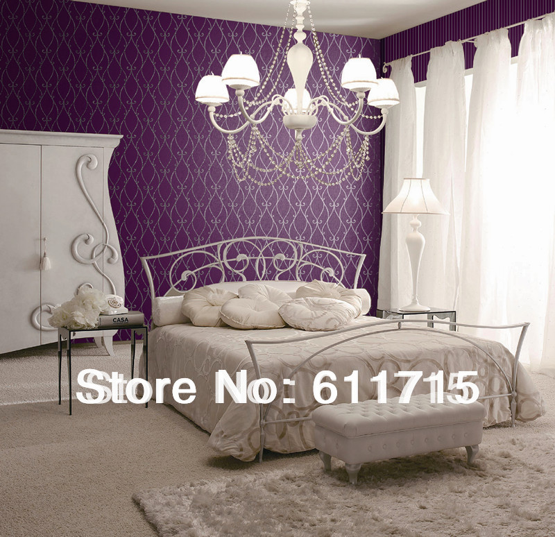 dark purple and soft purple living room decoration home decor with