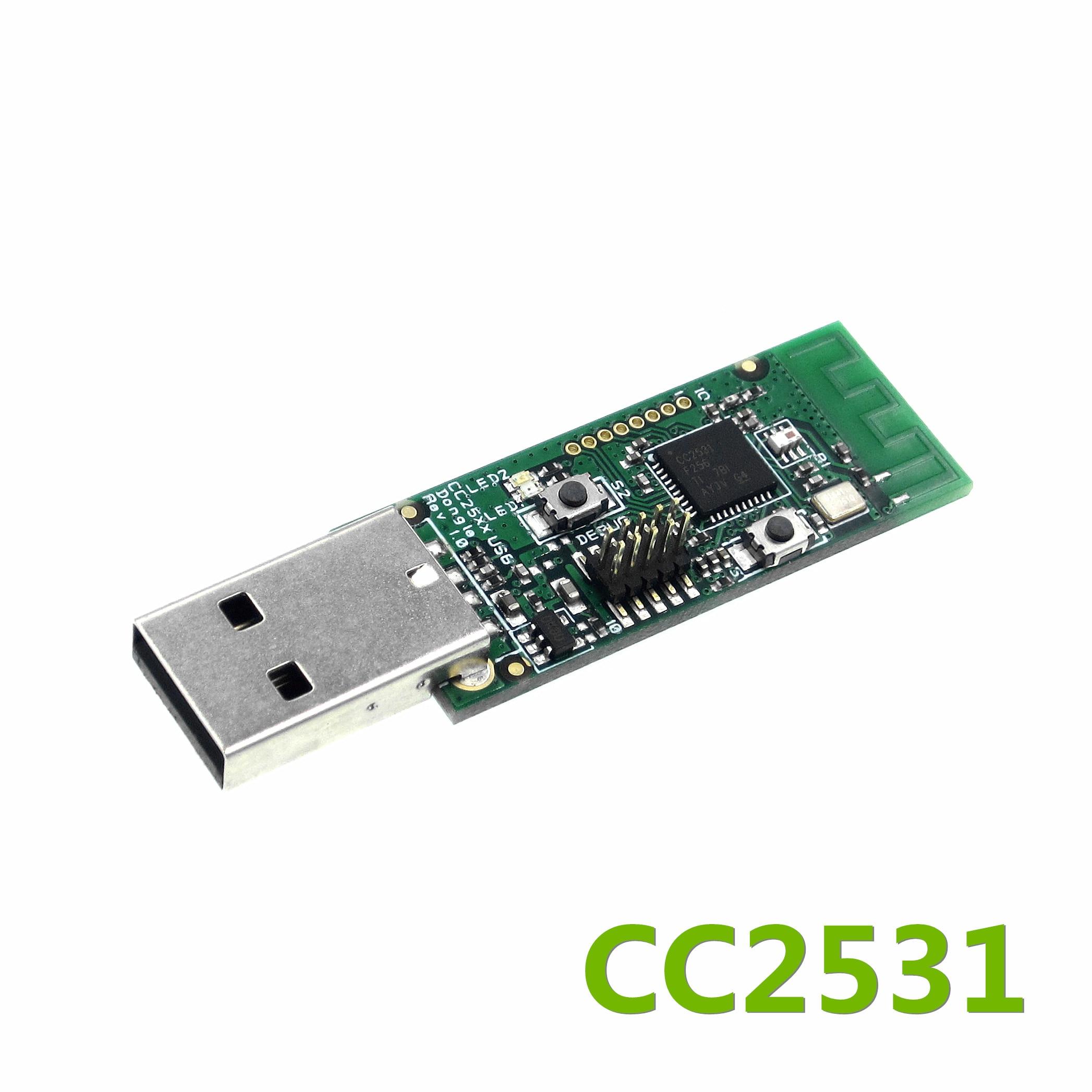 Sans fil CC2531 renifleur carte nue paquet protocole analyseur Module Interface USB Dongle Capture paquetSans fil CC2531 renifleur carte nue paquet protocole analyseur Module Interface USB Dongle Capture paquet