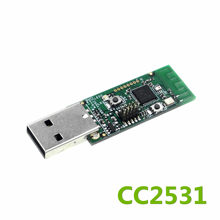 Wireless CC2531 Sniffer Bare Board Packet Protocol Analyzer Module USB Interface Dongle Capture Packet(China)