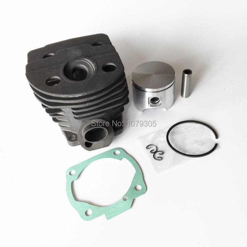 46mm Cylinder Piston Kits for Husqvarna 55 Motosierra Chainsaw parts 46mm cylinder piston ring kit and spark plug fuel fillters for chainsaw husqvarna 55 replacement parts 503609171 503443201
