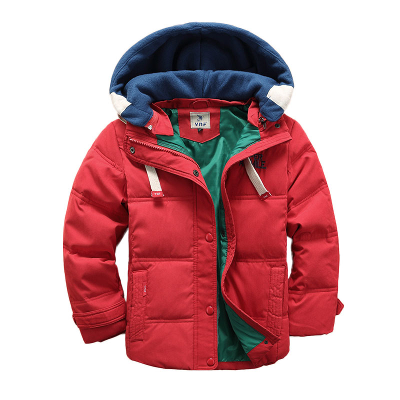 2017 Kids Jacket For Boys Winter Jacket Children Warm Hooded Outerwear Coats Children Down Jackets Teenager Boys Clothes children winter coats jacket baby boys warm outerwear thickening outdoors kids snow proof coat parkas cotton padded clothes