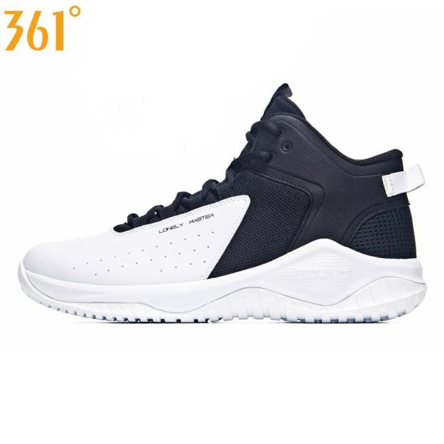 e804de6f47f Man High top 361 Basketball Shoes Men s Cushioning Light Basketball  Sneakers Anti-skid Breathable Outdoor Sports Shoes