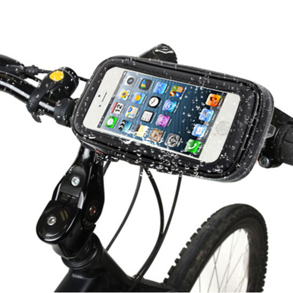 HC35 4.7 дюймов Универсальный мобильный телефон Аксессуары водонепроницаемый мотоцикл велосипед велосипедное крепление чехол для <font><b>iPhone</b></font> 4 4S 5 5S 5C