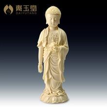 Dai Yutang Dehua porcelain master Lin Jiansheng master of art/State Lotus Buddha D03-220 yutang lin my country and my people
