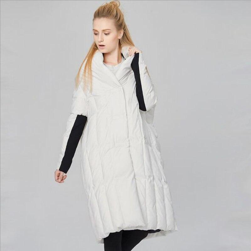Manteau Duvet 90 2018 Qualité Le Veste Parka Femmes Mode Bas D'hiver Canard De Chaud Vers Européenne Femme Épaississement Nouveau Blanc Haute HAvfw1Hq