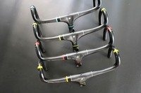 ASIACOM UD Matte Full Carbon Fiber Road Bike Integrated Handlebar And Stem 400 420 440mm Different