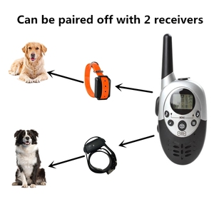 Image 5 - Su geçirmez Pet Köpek Eğitmen Yaka Uzaktan Şarj Edilebilir Köpek Bark Kontrol Eğitim Yaka Cihazı Titreşim Elektrik Çarpması Bip
