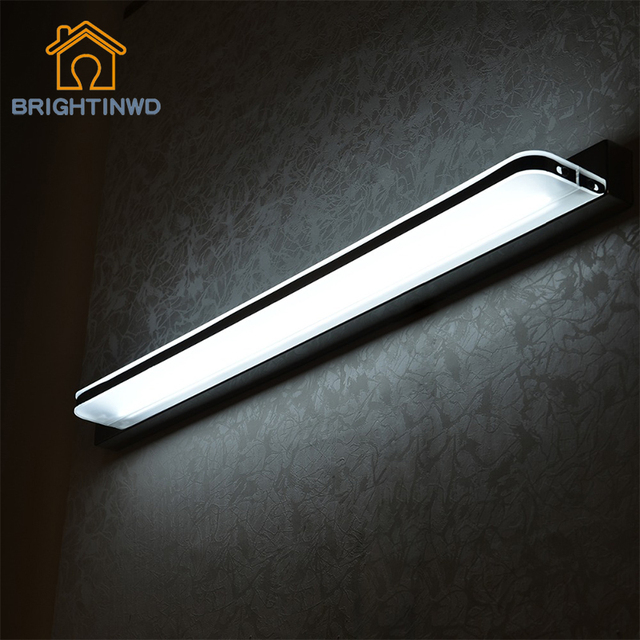 Mirror Wall Lamp  Waterproof Led  AC85-240V 3W/9W/12W Wall Light for Home& Led Mirror luminary Wall Lighting Lampada For bedroom