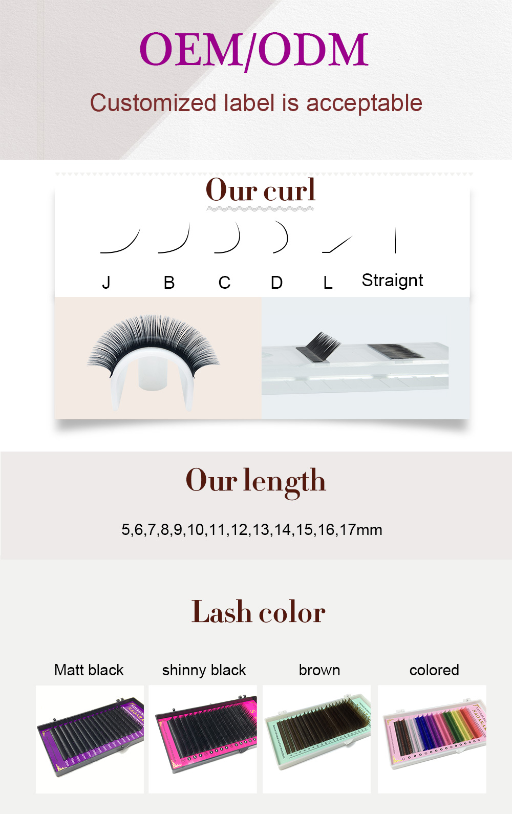 d1cec96e5ee Detail Feedback Questions about OEM / ODM acceptable eyelashes ...