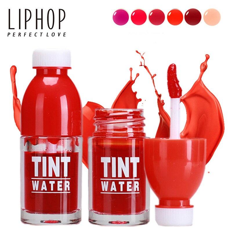 NEW 6 Colors Fruit Stained Liquid Matte lipstick Makeup Lips Lasting moist Nutri