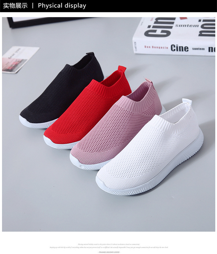 HTB1E5LTaIrrK1Rjy1zeq6xalFXar - Women Sneakers Fashion Socks Shoes Casual White Sneakers Summer knitted Vulcanized Shoes Women Trainers Tenis Feminino