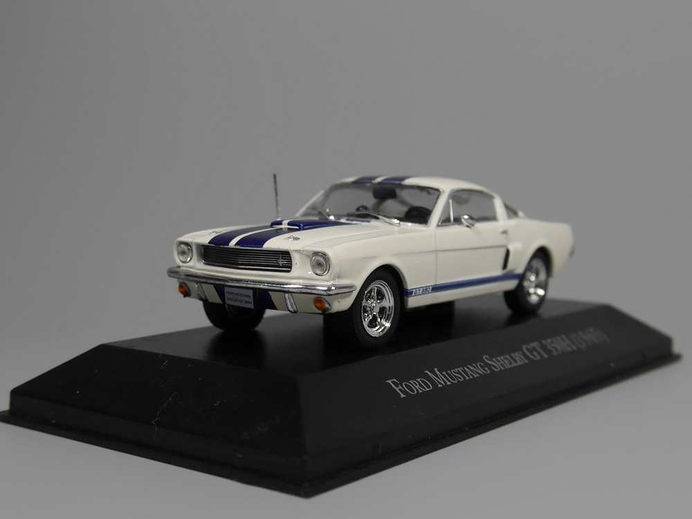 Auto Inn - ixo 1:43 Ford Mustang Shelby GT 350H 1965 Diecast model car майка борцовка print bar ford mustang shelby gt500
