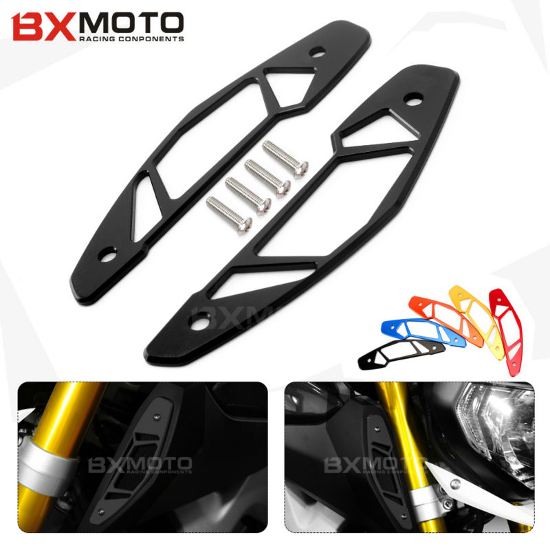 MT 09 Motorcycle accessories CNC Aluminum Black motorcycle Left&right cover Air Intake Covers For Yamaha MT-09 MT09 2014 2016