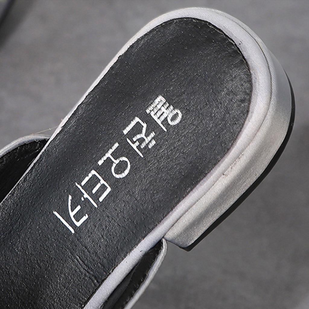 Chaussures 78 Dames Plat Zapatillas Pointu Casual Femmes Florale Black Mocassins Plataforma Talon Bout Broderie gray Unique Mujer dAwq6xC