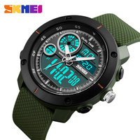 50M Waterproof Mens Sports Watches Relogio Masculino 2019 Men Silicone Sport Watch Reloj S Shockproof Electronic Wristwatch
