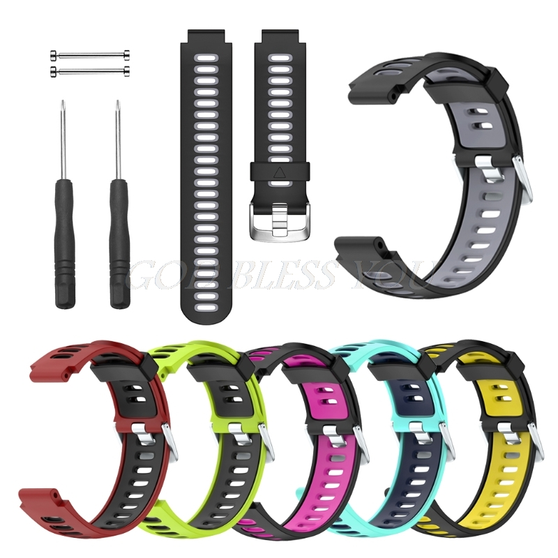 Silicone Wrist Band Replacement For Garmin Forerunner 735XT Smart Watch Bracelet цена