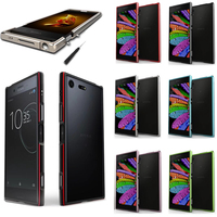 For Sony Xperia XA1 Plus Bumper Cover Deluxe Thin Metal Aluminum Frame Case For Sony Xperia