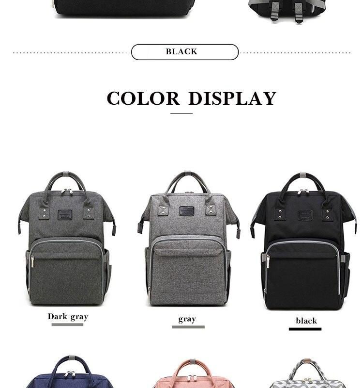 HTB1E5M4Q4TpK1RjSZR0q6zEwXXaq Fashion Mummy Maternity Diaper Bag Large Nursing Bag Travel Backpack Designer Stroller Baby Bag Baby Care Nappy Backp