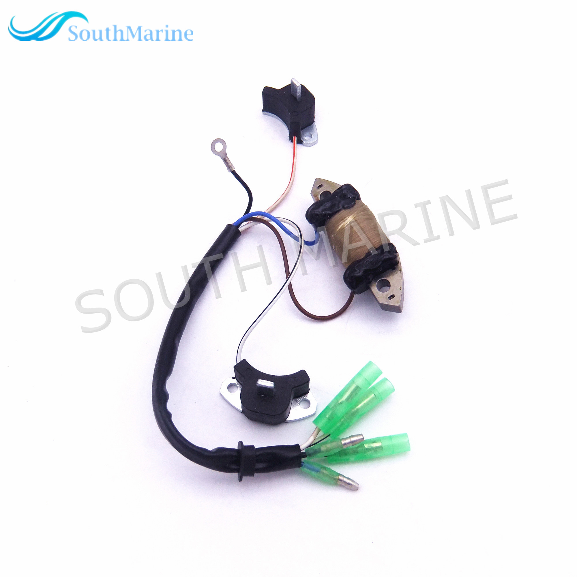 Outboard Engine Power Supply Coil Assy T20 06040200 for Parsun HDX 2 Stroke T20 T25 T30A