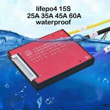 電動自転車 15 s 48 v lifepo4 ライフバッテリー保護ボード 20A 30A 40A 50A 60A 鉄リチウム充電バランス pcb pcm パック携帯 bms 3.2 v