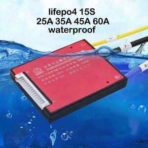 Image 1 - EBike 15S 48V lifepo4 LiFe 배터리 보호 보드 20A 30A 40A 50A 60A 리튬 철 충전 밸런스 PCB PCM 팩 셀 BMS 3.2V