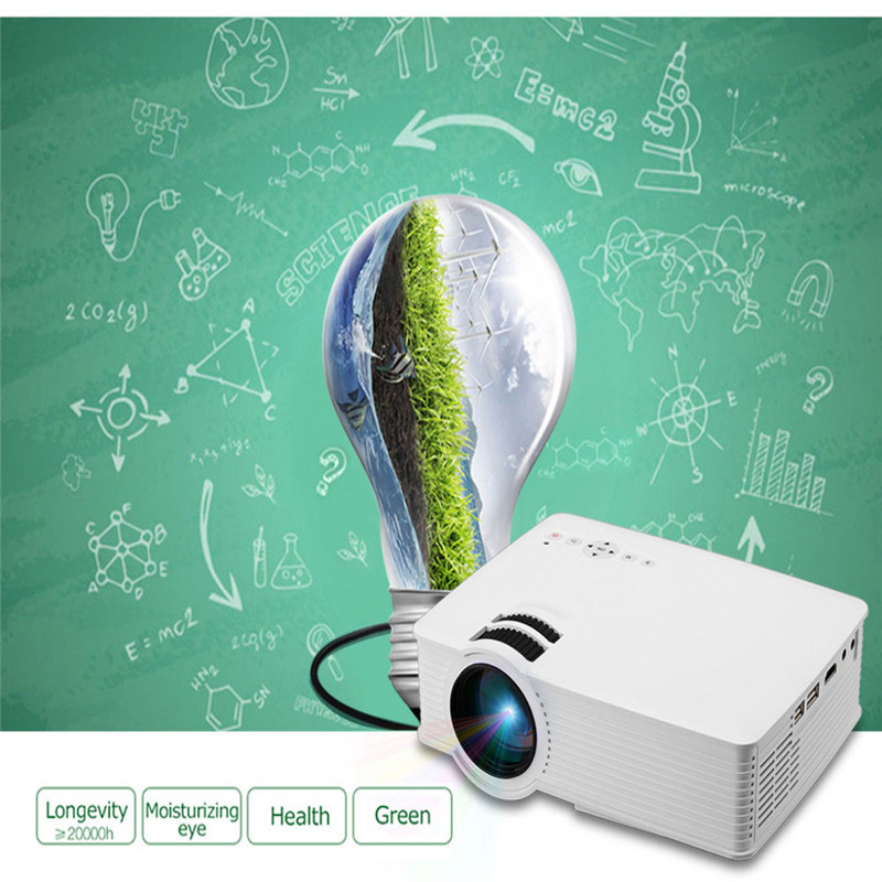 Poner Saund Full Hd New Mini Projector Proyector Led Lcd: Poner Saund GP 9 Home Cinema Projector Mini Support 1080P