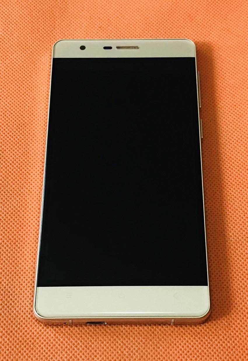 Écran LCD d'origine utilisé + écran tactile + cadre pour OUKITEL K4000 Lite MTK6735 Quad Core livraison gratuite