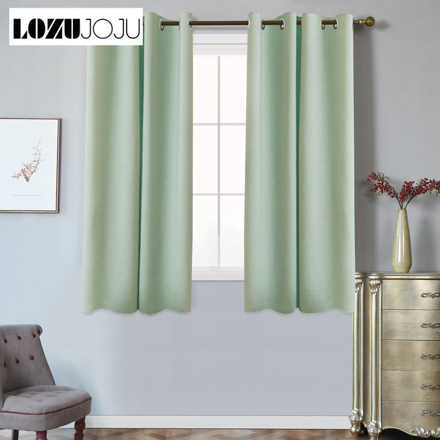 grommet kitchen curtains white oak cabinets for living room bedroom window ready made short blackout top treatments modern design
