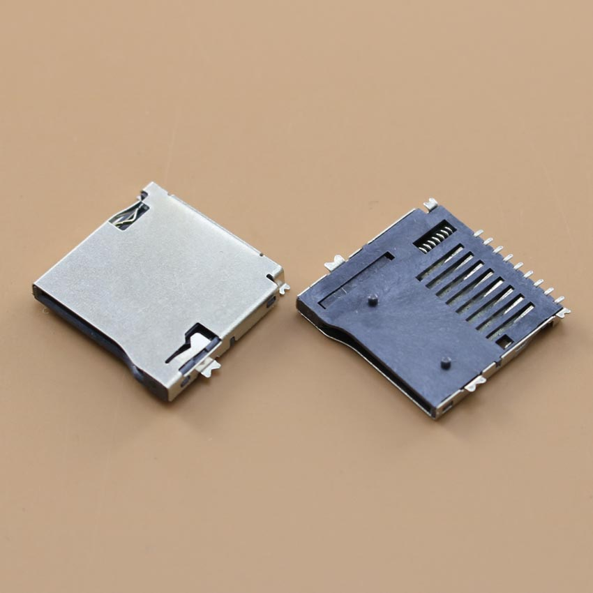 YuXi Brand New TF Card Socket Holder Tray Slot Connector For MP3 MP4 And GPS.