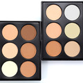 6 Color Mini Facial Pressed Powder Contour Palette Set Makeup Brighten Facial Cosmetic