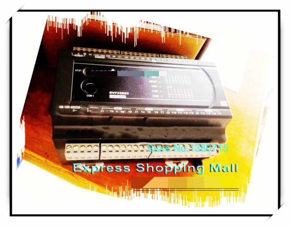 New Original DVP32ES200R PLC ES2 series 100-240VAC 16DI 16DO Relay output dvp32ec00t3 new original delta plc ec3 series 100 240vac 16di 16do transistor output