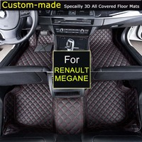 Car Floor Mats For Renault Megane Car Styling Foot Rugs Carpets Custom Made Specially For Renault