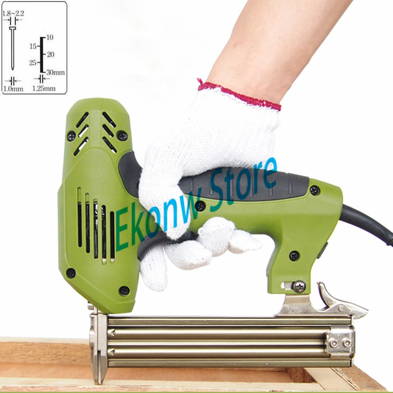 Free shipping 220V F30 Electric Stapler Gun Nail Gun Nailer Tools Framing tacker Electric Power Tools only for straigt nails free shipping reilyn piston cn55p accessory for nail gun parts for coil nailer cn55 for max bostitch senco stanley