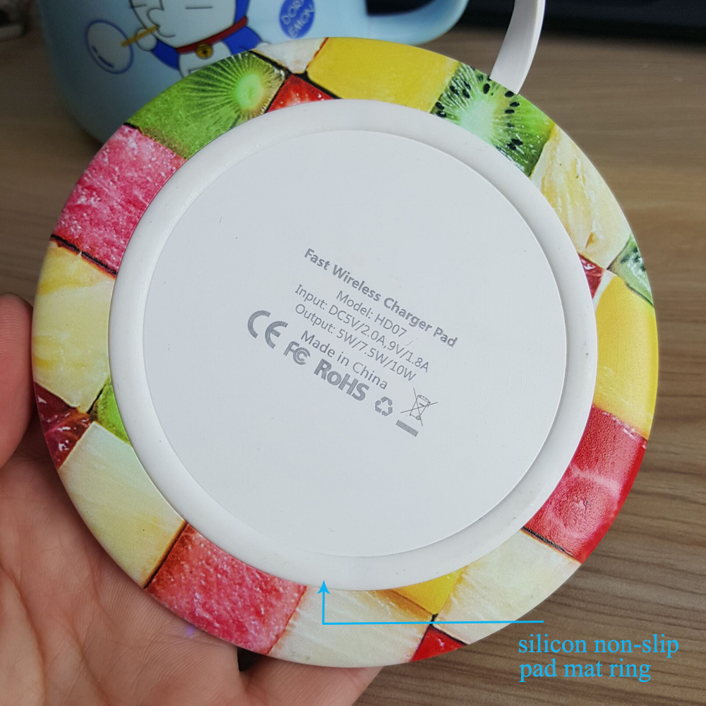 fast wireless charger pad011