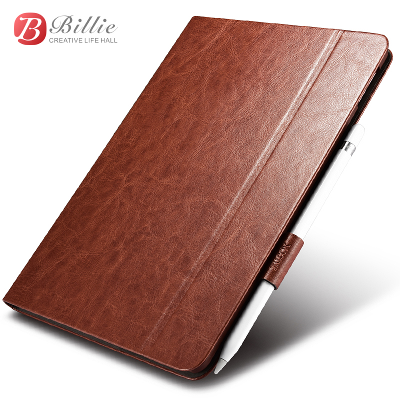 For iPad Pro 10.5 Case Cover Luxury PU leather Hard Plastic Shockproof Magnetic Smart Flip Case for iPad Pro 10.5 2017 Tablet leather case flip cover for letv leeco le 2 le 2 pro black