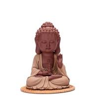 F керамика дом статуи Будды украшения дома ручной работы новоселье подарки гостиная Desktop Творческий чайники