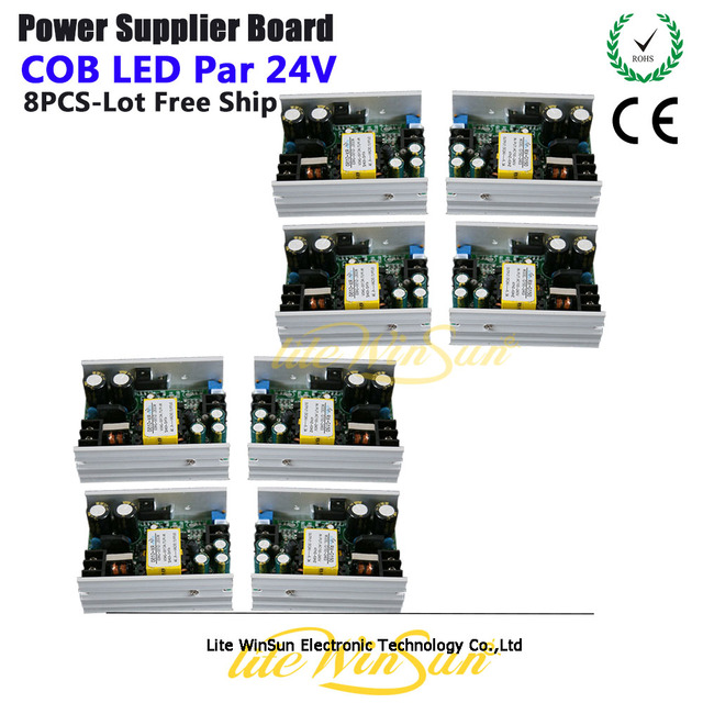 Litewinsune Stage Lighting Accessories Drive Current Electric Source Board Supply 24v For Cob Led Par