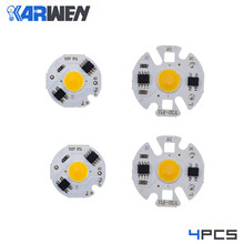 KARWEN 4PCS LED COB lamp Chip Bulb Y27 Y32 3W 5W 7W 9W 220V Real Power Input IP65 For Outdoor LED Bulb FloodLight(China)