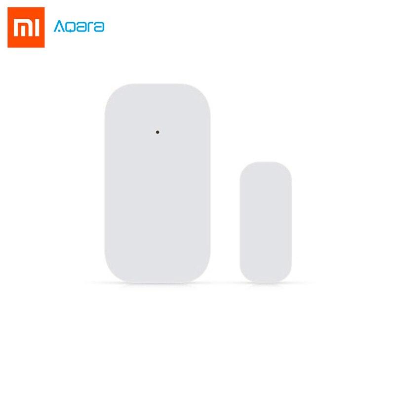 Original Xiaomi Aqara Door Window Sensor Mini Zigbee Wireless Connection Smart Mini Door Sensor Work for