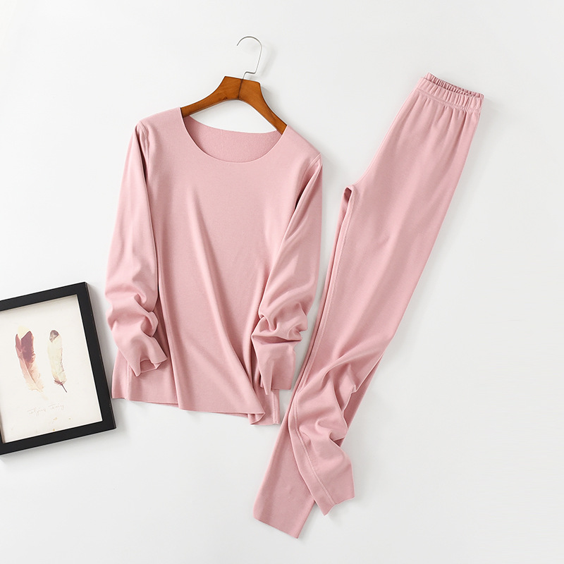 2018 Autumn And Winter New Korean Version Warm Long Johns Plus Size Medium Thickness Cotton Thermal Underwear Sets
