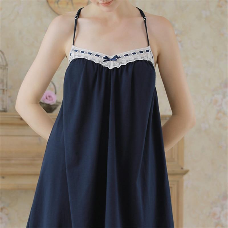 125d12f371903 Elegant Robe Gown Sets Autumn Women Sleepwear Dark Blue Bathrobe Lace  Kimono Velvet Sexy Backless Slip Dress Peignoir Sets H718-in Robes from  Underwear ...