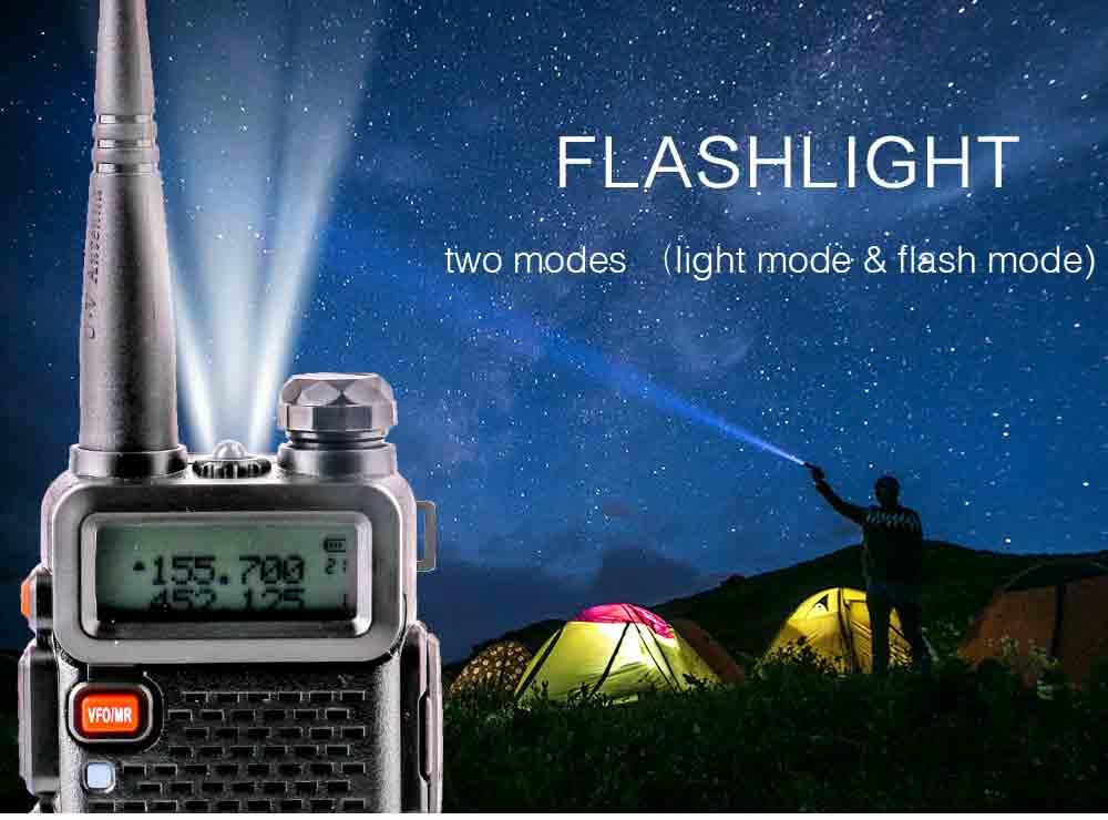 2Pcs BaoFeng UV-5R Walkie Talkie VHFUHF136-174Mhz&400-520Mhz Dual Band Two way radio Baofeng uv 5r Portable Walkie talkie uv5r (4)