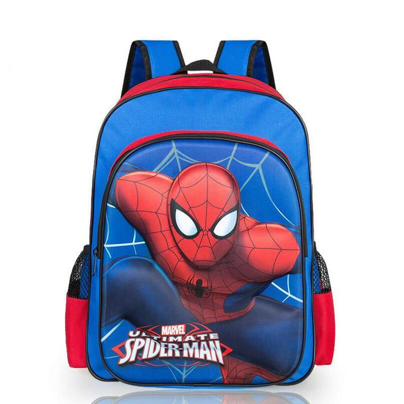New Fashion Versatile tas ransel children kids schoolbags teenagers shoulder bag cartoon spiderman mochila infantil backpack