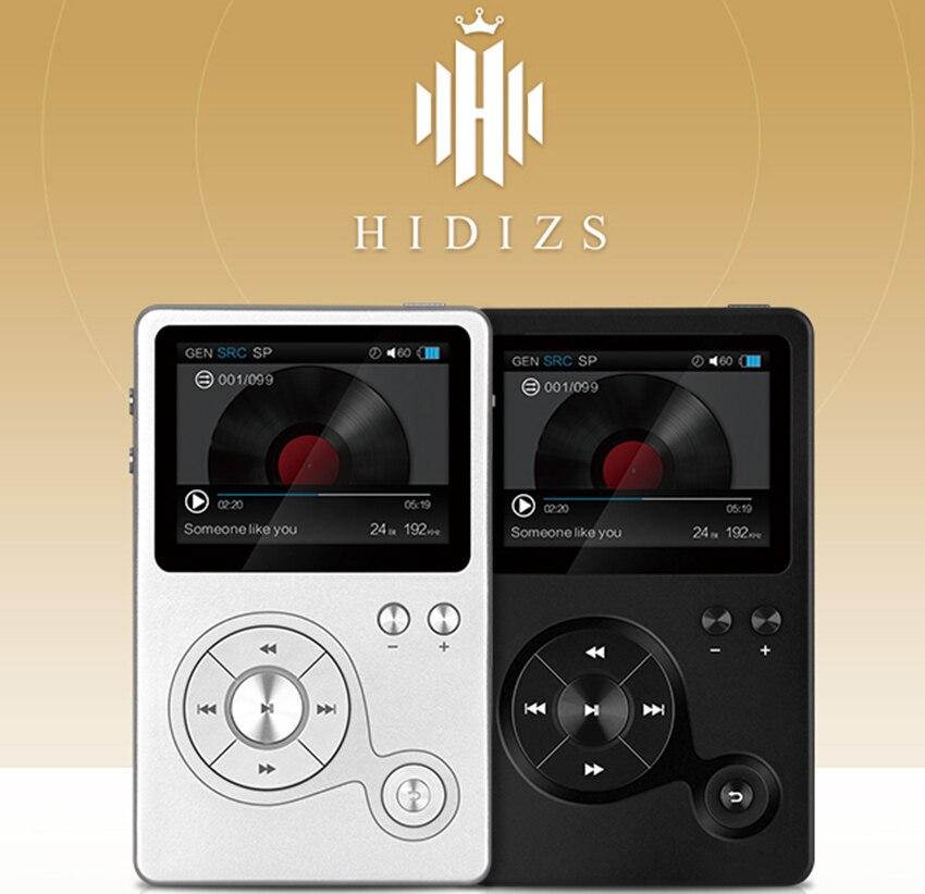Hidizs AP100 Portable poche professionnel Hifi lecteur de musique sans perte 24bit/192 kHz Master fichiers musicaux sortie coaxiale/entrée