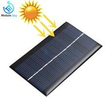 Солнечная панель 0,05 Вт 0,6 Вт 1 Вт 1,5 Вт мини система солнечной энергии сделай сам для солнечных батарей зарядное устройство для сотового телефона 0,5 В 6 в 9 в домашнее освещение