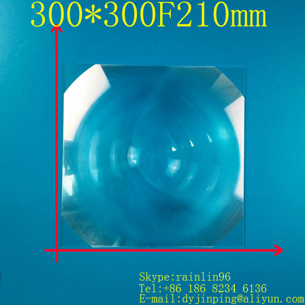 Fresnel Lens square 300*300MM Focal length 210mm, good lens,magnification 4-5 times,Concentrated amplification DIY projector doumoo 330 330 mm long focal length 2000 mm fresnel lens for solar energy collection plastic optical fresnel lens pmma material