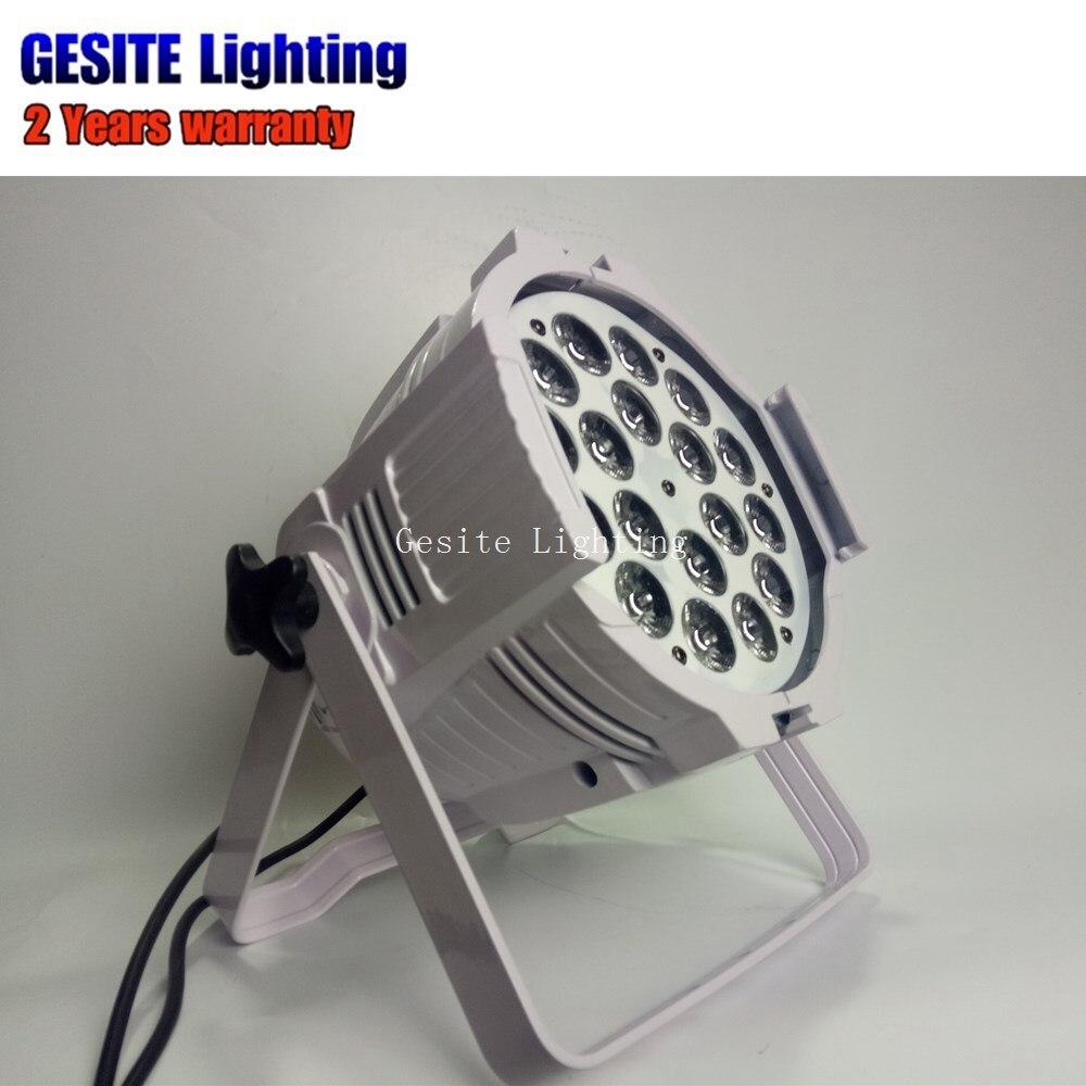 Guangzhou IP33 18x18 w mini par RGBWA UV LED stage Par 64 kan licht - 6