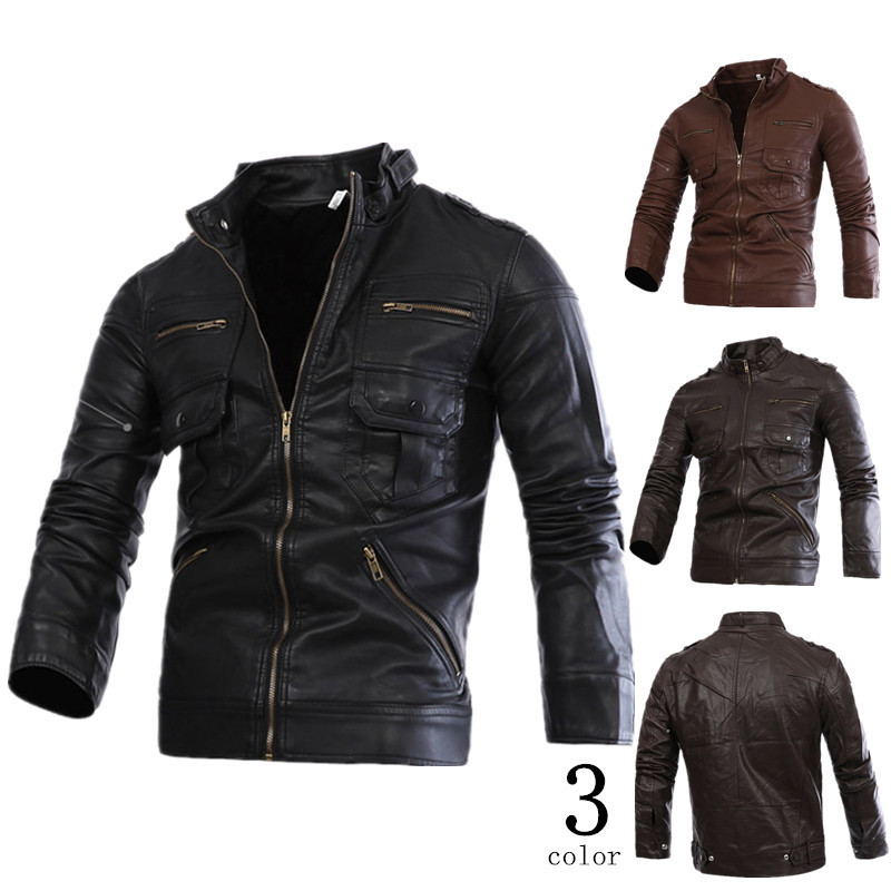 Popular Canvas Leather Jacket-Buy Cheap Canvas Leather Jacket lots ...