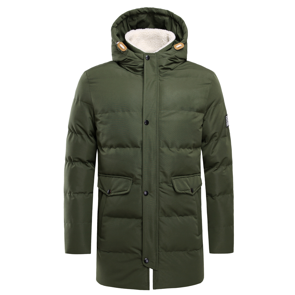 Super Warm Winter Waterproof Long Jacket For Men